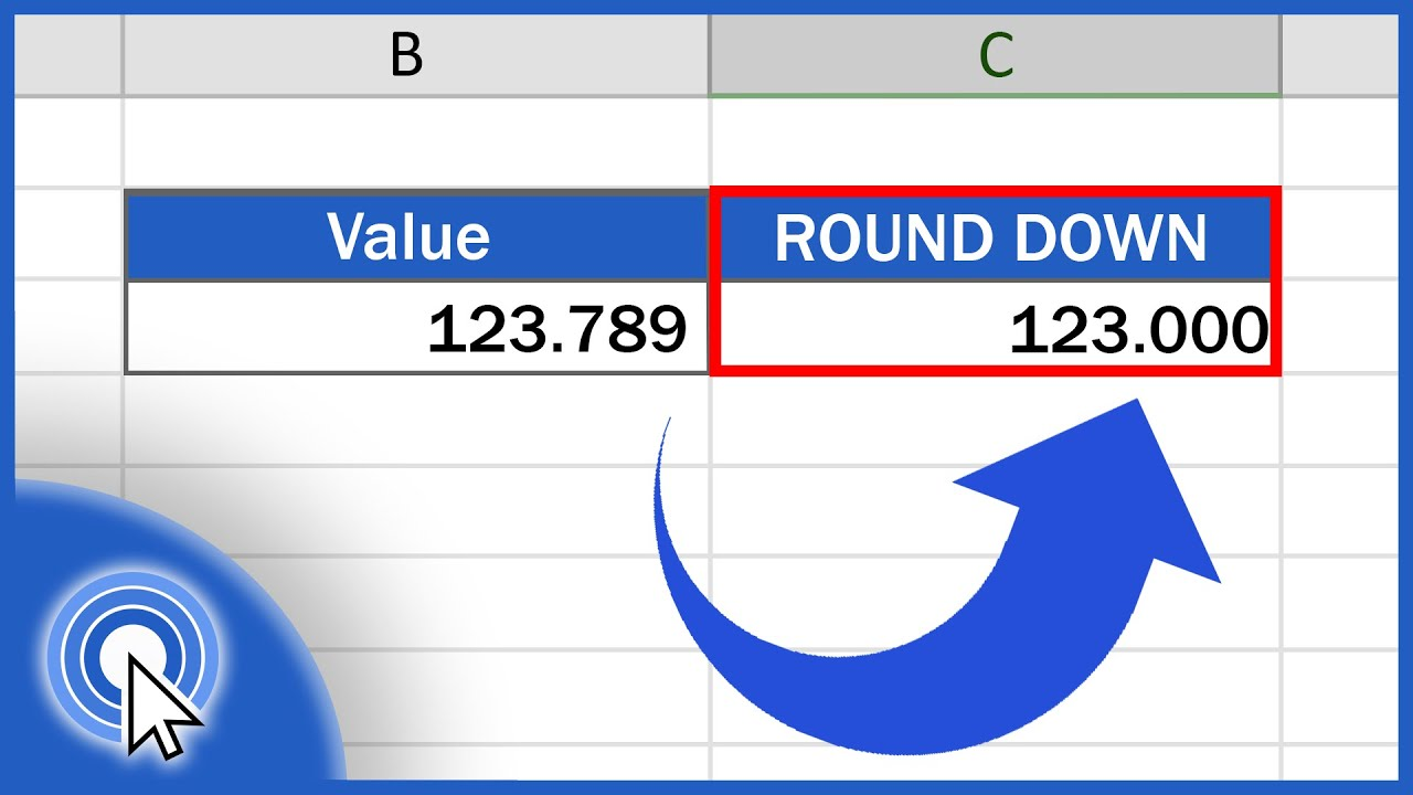 Download How to ROUND DOWN in Excel