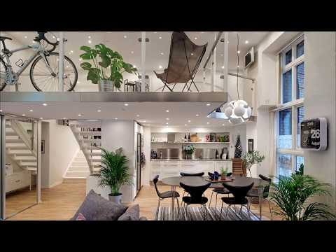 Small Studio Loft Apartment Design - 28 Ideas: Beautiful and Modern Lofts