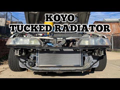 Koyo Tucked Radiator : Track Integra