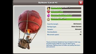 Balloon Attack is a very weak game of Clash of Clans
