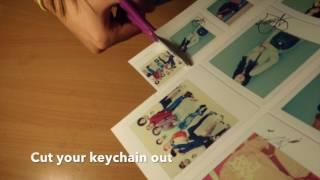 DIY anime keychain (Really easy)