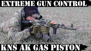Extreme Gun Control: And it is Good!  KNS Adjustable AK Gas Piston! 😃
