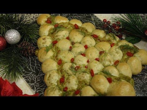 Choinka – Wyśmienita Przekąska na Święta Bożego Narodzenia | Choinka z Ciasta Drożdżowego