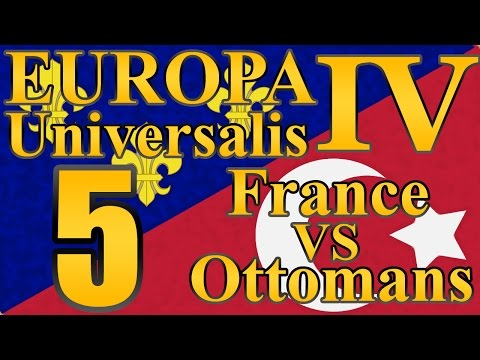 "Europa Universalis 4 Ottomans VS. France ""Colonial France!"" EP:5 [Mare Nostrum]"