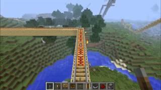 Minecraft ウォータースライダーやジェットコースターを作ってみた。