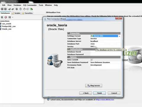 DBVISUALIZER ORACLE THIN WINDOWS DRIVER