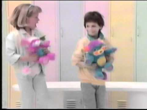 1986 Popples commercial: P.C. & Prize.