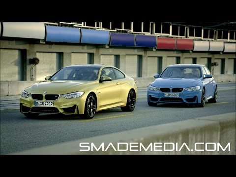 2015 BMW M3 Sedan and M4 Coupe - Official Launch Film -  SMADEMEDIA COM Galleria