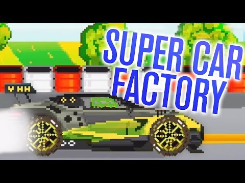 BUILDING SUPER CARS! | Motor World Car Factory