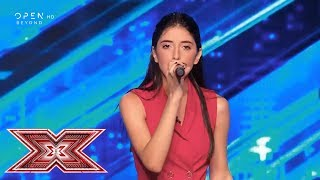 «Just give me a reason» τραγουδά η Δήμητρα Δημητρίου | Chair Challenge 3 | X Factor Greece 2019