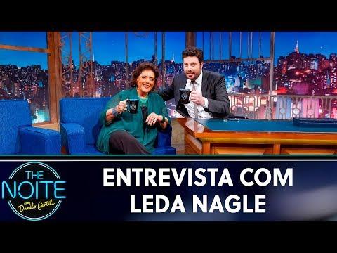 Entrevista com Leda Nagle  The Noite 140519
