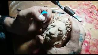 Working for Lion briar pipe ...