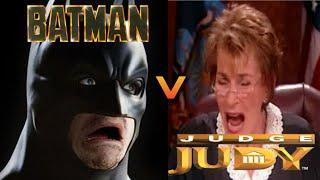 Batman V Judge Judy: Courtroom of Justice / Funny Movie / ProjectGlaive.com Video