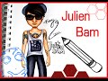 Topmodel Malbuch | How To Draw Julien Bam | Malen | Copics || Foxy Draws
