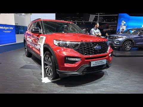 Ford Explorer Plug In-Hybrid SUV 4K Exterior Interior POV
