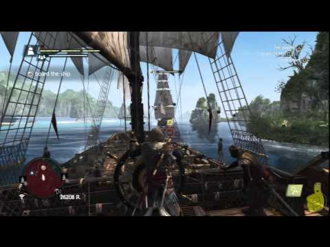 Assassin's Creed IV Black Flag: Sequence 8 Memory 2 (Vainglorious Bastards) 100% Sync - HTG