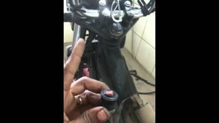 Teste para motos de como apaga código de falha da  Luz da injeção  e bomba de combustível.