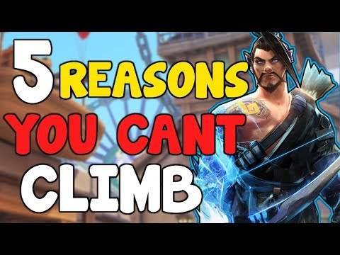 5 MISTAKES That STOP YOU CLIMBING Out Of LOW ELO Bronze / Silver / Gold /Platinum Overwatch Season 9