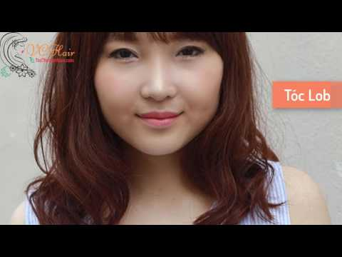 Những kiểu tóc phù hợp với cô nàng có khuôn mặt tròn   VC Hair