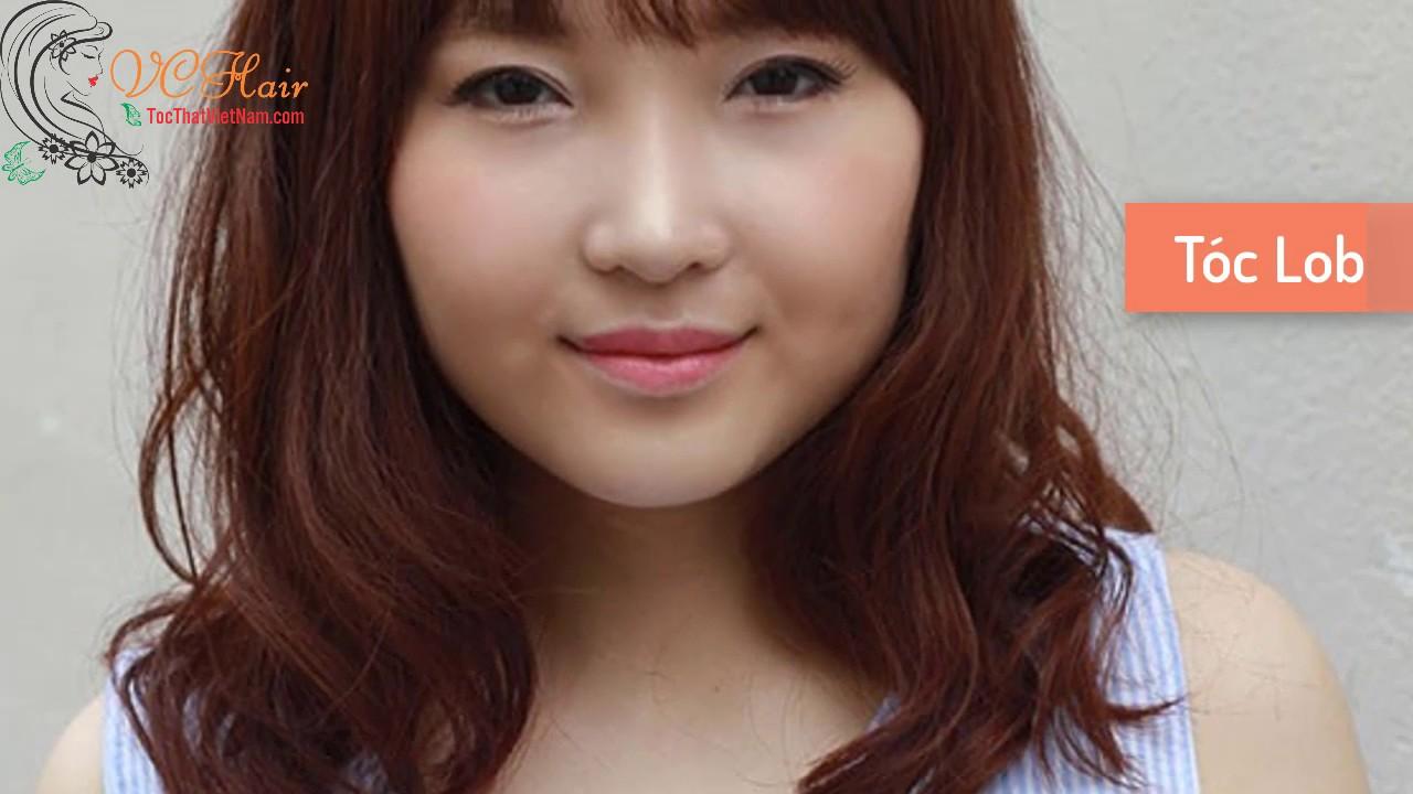 Những kiểu tóc phù hợp với cô nàng có khuôn mặt tròn | VC Hair