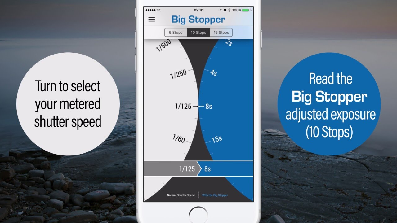 LEE Filters New App - Stopper Exposure Guide