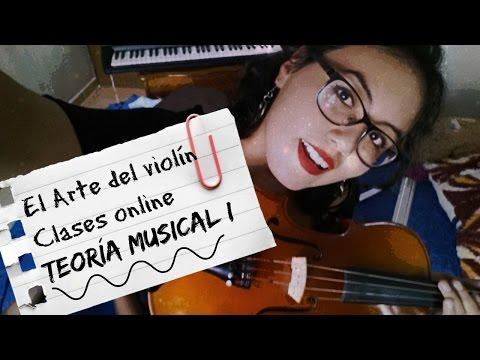 CLASES DE VIOLÍN ONLINE 😊//TEORÍA MUSICAL DESDE CERO (Pentagrama, clave, notas) 🎶
