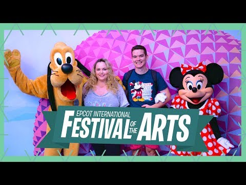 New Epcot International Festival of the Arts 2018 and Rides | Walt Disney World Vlog January 2018