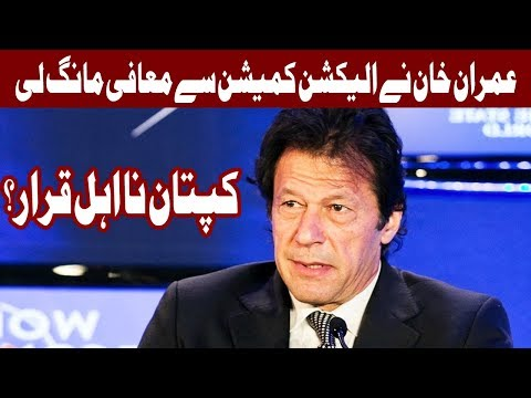 Contempt Case -  Imran Khan's counsel submits reply in ECP - Headlines - 12:00 PM - 25 Sep 2017