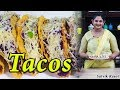Mexican Tacos Recipe | टाकोस रेसिपी | Vegetable Tacos
