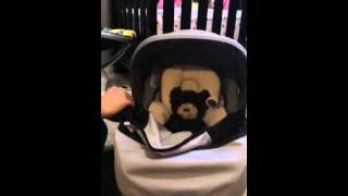 Britax Infant Car Seat Sun and Bug Cover Instalation