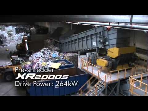 RDF production with waste-to-energy shredders from UNTHA