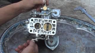видео Доработка переходной системы первой камеры карбюратора Озон 2105, 2107
