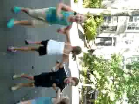 Maggie, Olivia, Harrison & ( ) Dancing