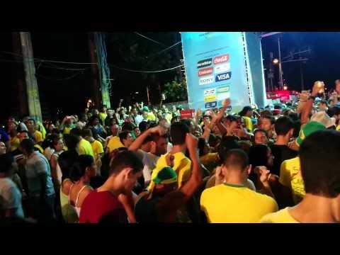 Recife Fan Fest - Brazil vs Columbia (post match)