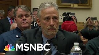 Jon Stewart Rips McConnell On 9/11 Money: 'Your Species' Is Slow | The Beat With Ari Melber | MSNBC