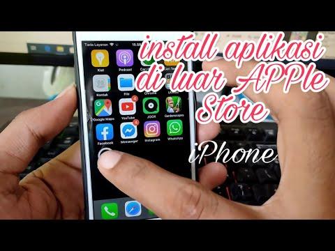 Cara Instal Aplikasi Di Iphone Yang Download Di Luar App Store ATAU SUMBER TIDAK DI PERCAYAI