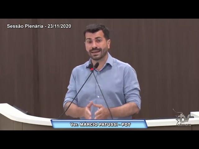 Programa de Fomento à Produção no Município 23.11.2020   Marcio Patussi