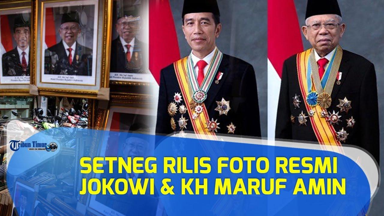 Foto Resmi Jokowi Kh Maruf Amin Presiden Wakil Presiden Ri 2019 2024 Ini Fotografernya Youtube