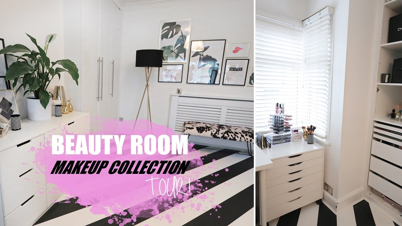 My Dream Beauty Room Amp Makeup Collection Tour Youtube