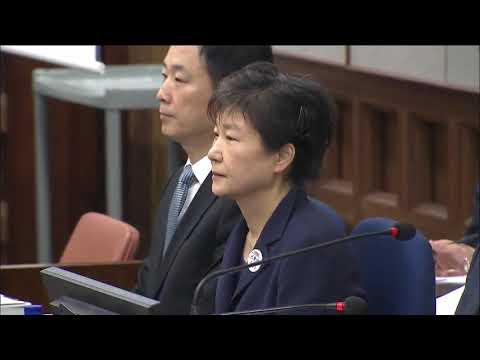 Park Geun-hye Detention