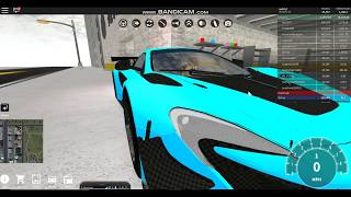 Maxing out my McLaren 650S GT3!!! (Roblox Vehicle Simulator)