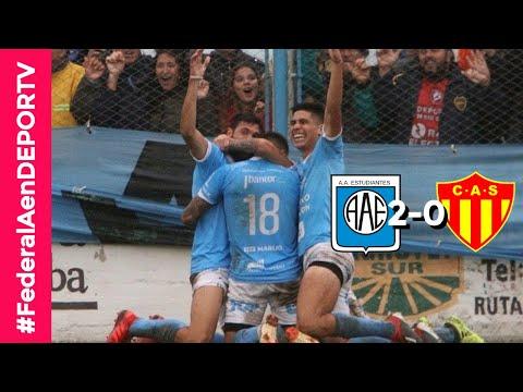 Estudiantes de Rio Cuarto 2-0 Sarmiento (R) - Goles y mejores jugadas - Federal A - Pentagonal Final