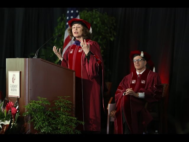 An interview with commencement speaker Azar Nafisi