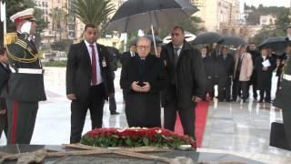 زيارة رئيس الجمهورية لمقام الشهيد ومتحف المجاهد بالجزائر