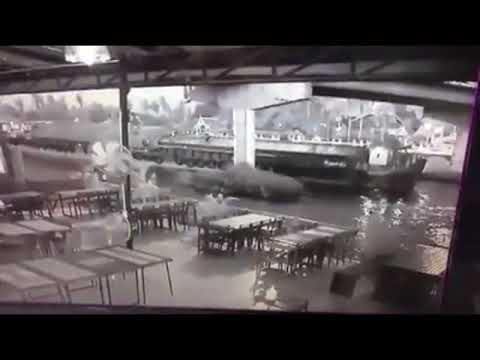 Ship Hits Bridge And It Collapses !!