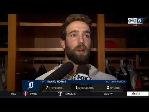 Tigers LIVE 9.1.18: Daniel Norris