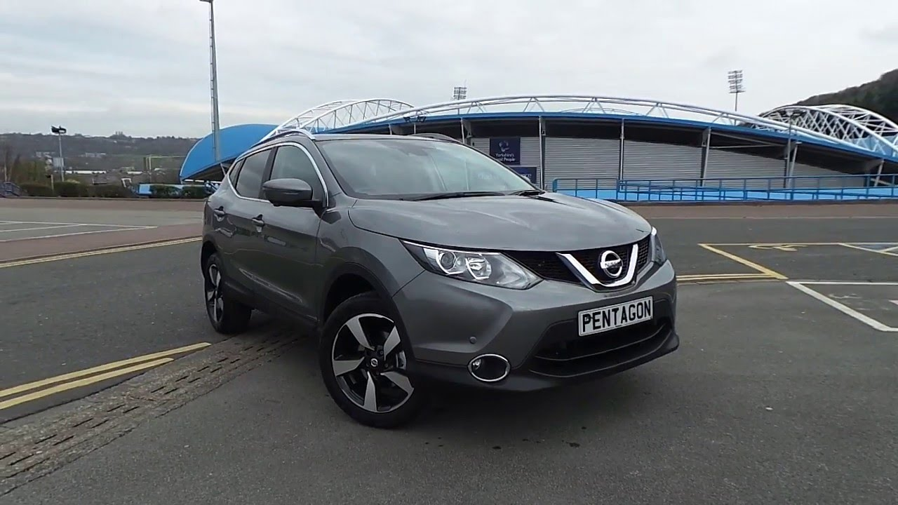 2016 16 nissan qashqai 1 2 dig t n connecta 5dr in grey youtube. Black Bedroom Furniture Sets. Home Design Ideas