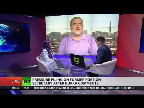 Debate: Boris' burka blunder