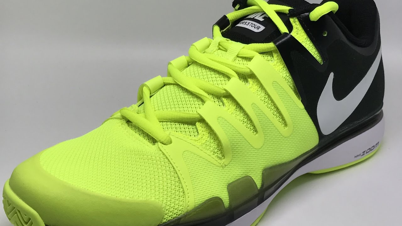 2322705b1e89e Nike Zoom Vapor 9.5 Tour (Volt White-Black)