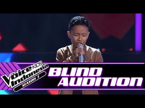 Grego - Fallin' | Blind Auditions | The Voice Kids Indonesia Season 3 GTV 2018